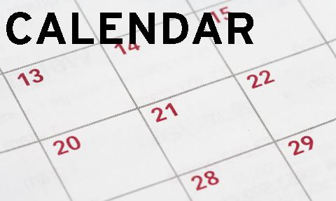 Calendar for website