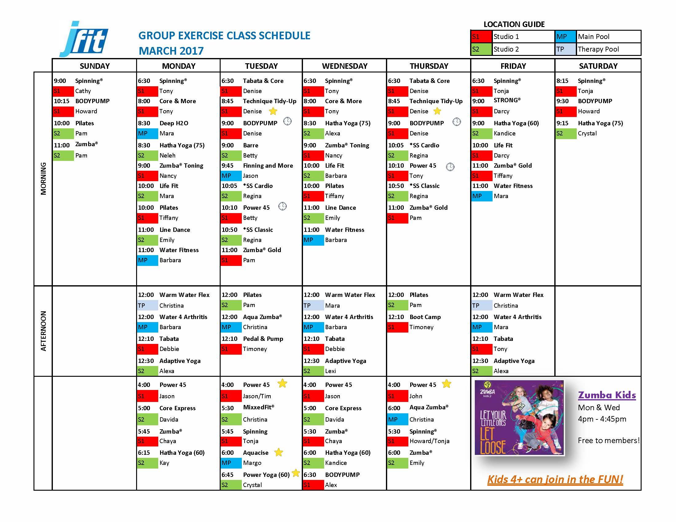 3 - March 2017 GroupX Schedule_FINAL_Page_1