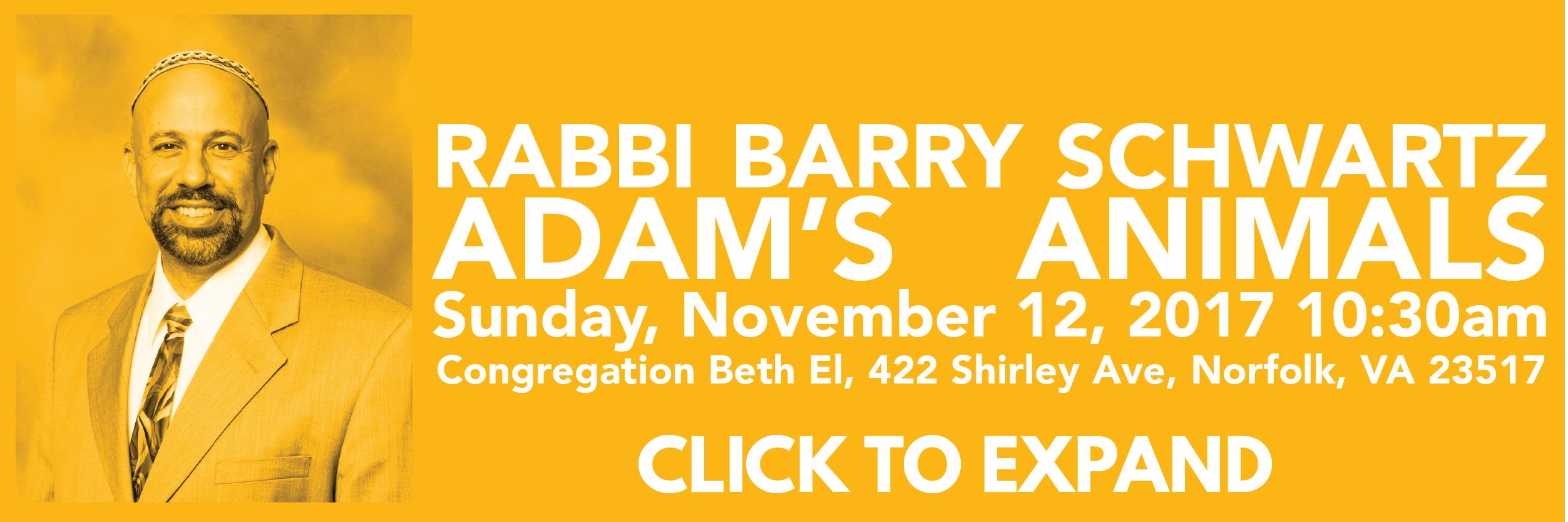 Rabbi Barry Schwartz